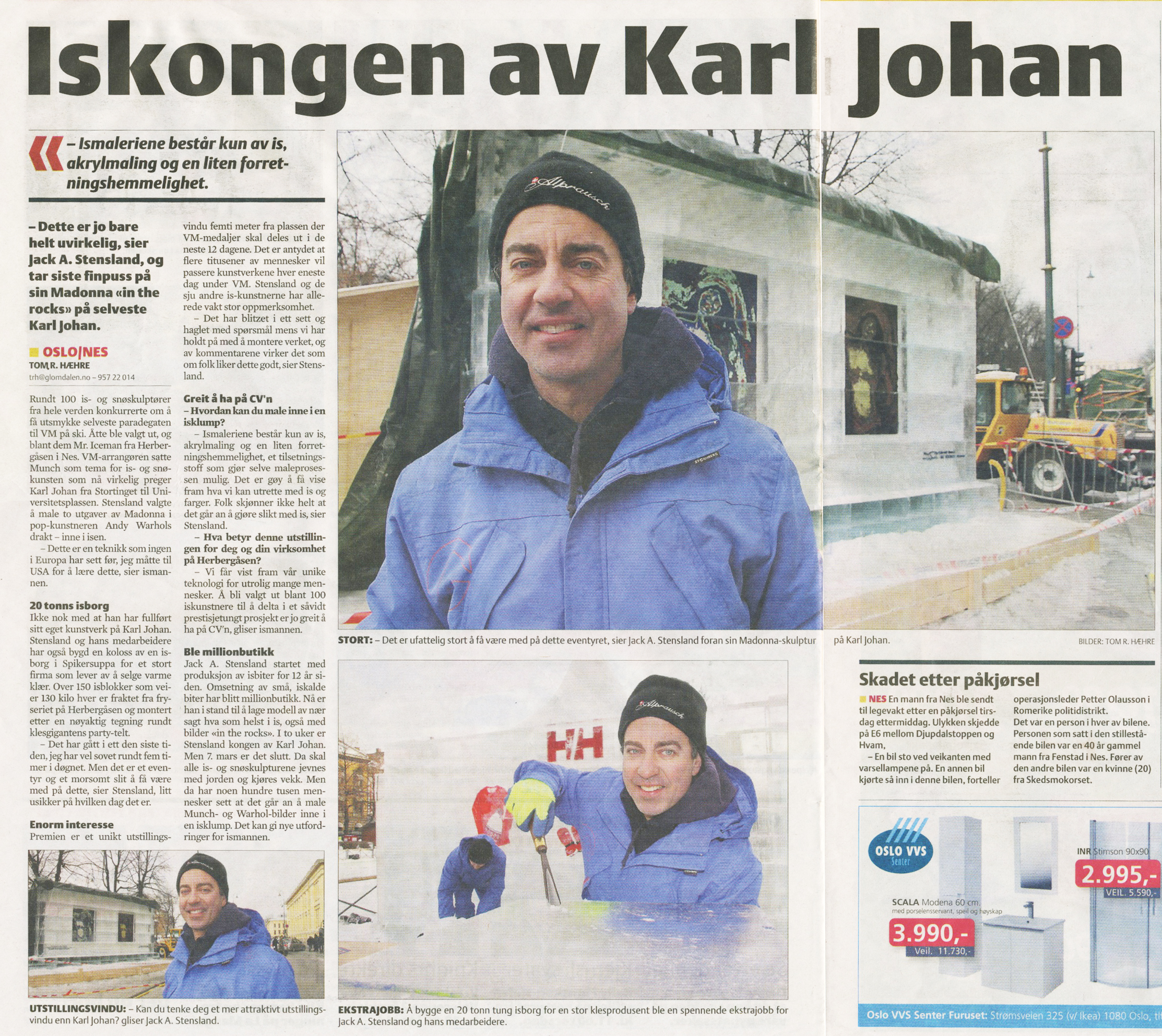 The Ice King of Karl Johan