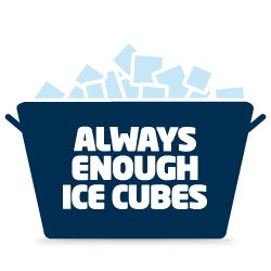 Have enough ice
